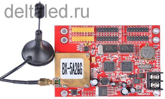 Контроллер для табло BX-5A2&G с управлением через сотовую связь
