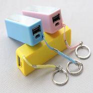 Зарядное устройство для мобильного, с кольцом для ключей и ароматом яблока