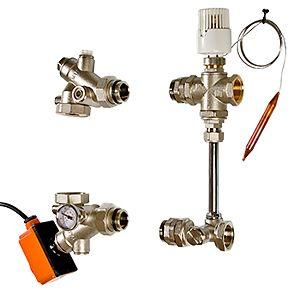 Насосно-смесительный узел для теплого пола VALTEC DUAL
