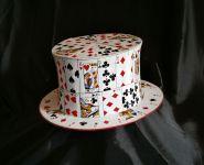 Карточная шляпа шапокляк