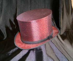 Красная шляпа шапокляк