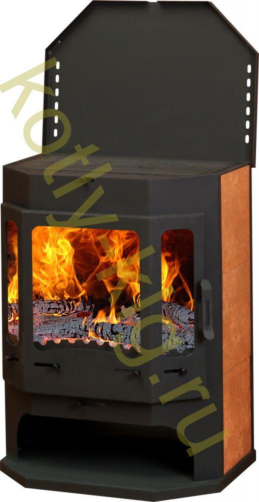 Бавария камин призматик с теплообменником Пластины теплообменника Теплохит ТИ 57 Миасс