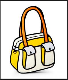 Мультяшные сумки серии Bonjour
