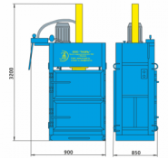 Пресс гидравлический пакетировочный ПГП-18БУ