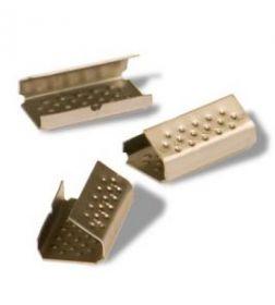 Скрепа металлическая для полипропиленовой ленты