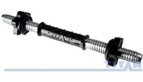 Гриф гантельный Titan d 25 мм длина 350 мм