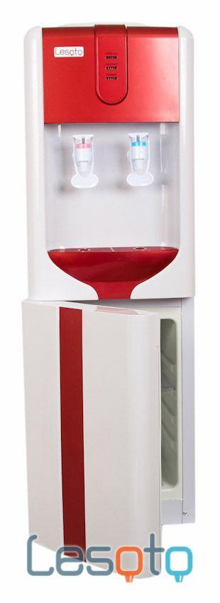 Кулер для воды Lesoto 162 L-B с холодильником (red)
