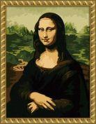 "Картина по номерам ""Леонардо Да Винчи. Мона Лиза"""