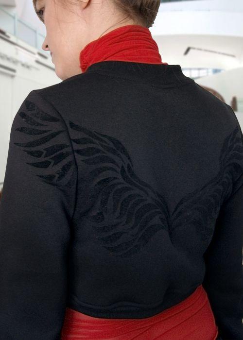 толстовка-болеро Крылья