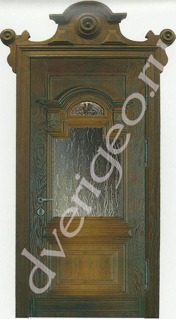 Двери из массива на заказ в Петербурге купить