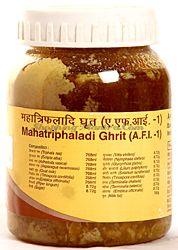 Маха Трифалади Гхрит для здоровья глаз  Патанджали Аюрведа /Divya Patanjali Mahatriphaladi Ghrit
