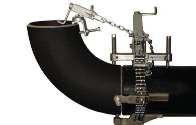 Цепной центратор с одним упорным винтом «Single Jackscrew Chain Clamp»