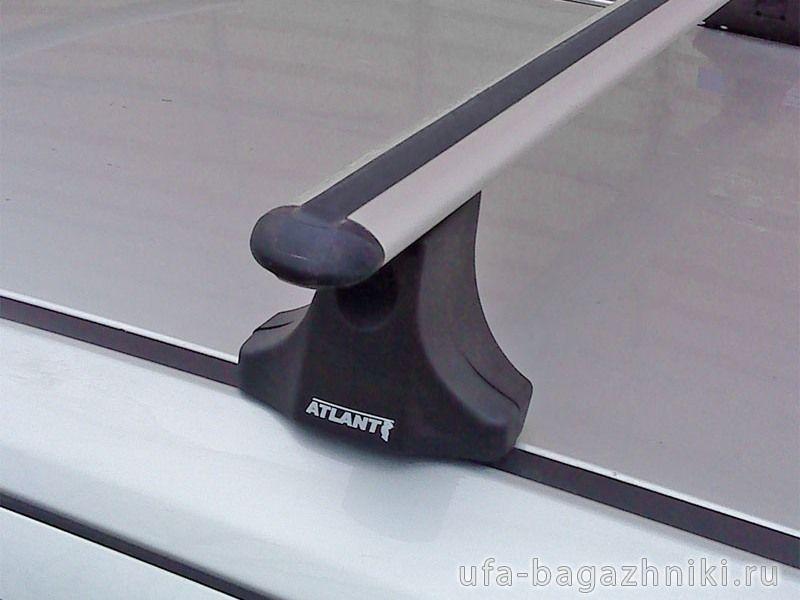 Багажник на крышу Opel Astra H, Атлант, аэродинамические дуги