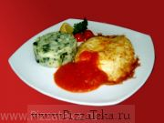 Филе рыбы в сыре Пармезан