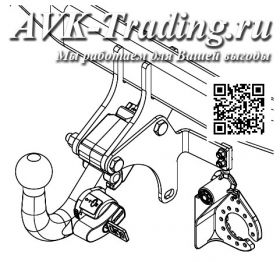 Фаркоп Thule 564300 для Hyundai Santa Fe 2012- быстросъёмный с крюком-автоматом BMA