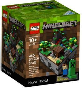 21102 Лего Майнкрафт Микромир