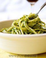 "Спагетти с соусом ""Песто"""