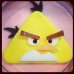 """Мыло """"Жёлтая птица Angry Birds"""""""