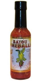 Острый соус Bayou Fireballs