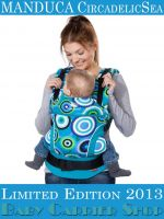 MANDUCA Baby CARRIER LIMITED EDITIONS COLLECTION CircadelicSea