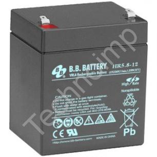 B.B. Battery HR 5.8-12 'Аккумуляторная батарея'