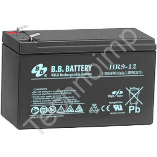 B.B. Battery HR 9-12 'Аккумуляторная батарея'