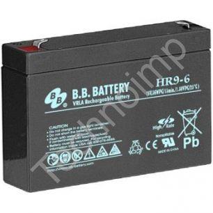 B.B. Battery HR 9-6 'Аккумуляторная батарея'