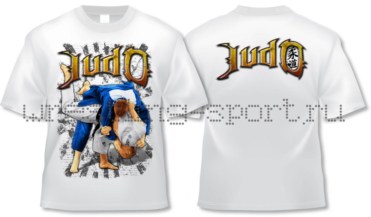 Надписи на футболки дзюдо