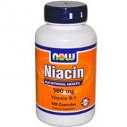 Витамин В-3- Ниацин(Никотиновая кислота) 100 кап. 500мг