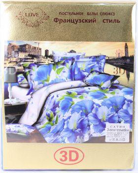 Комплект постельного белья 3 D ( 2сп)-729 руб