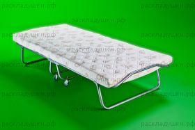 """Складная кровать """"Релакс 2"""" на основе ламели с колесиками"""