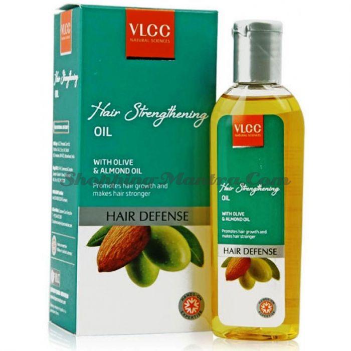 Масло для укрепления волос с маслом оливы & миндаля VLCC Hair Strengthening Oil