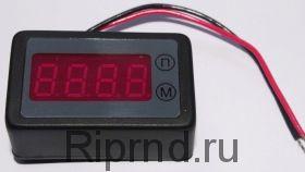 Счетчик моточасов - вольтметр СМВ-036-4