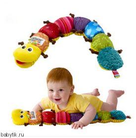 Развивающая музыкальная игрушка Гусеница Lamaze