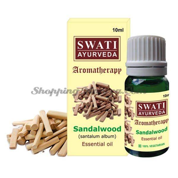Натуральное эфирное масло Сандал Свати Аюрведа / Swati Ayurveda Sandal Essential Oil