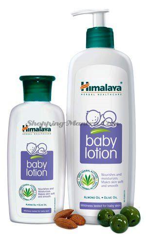 Лосьон для тела малышей Миндальное масло&Олив Хималая  / Himalaya Baby Lotion