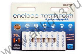Sanyo Eneloop AA 8 Pack