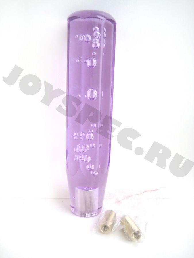 Ручка КПП с гранями, 200мм. Фиолетовая