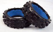 "HPI Baja 5B front knobby ""MT TIRE"" tire set"