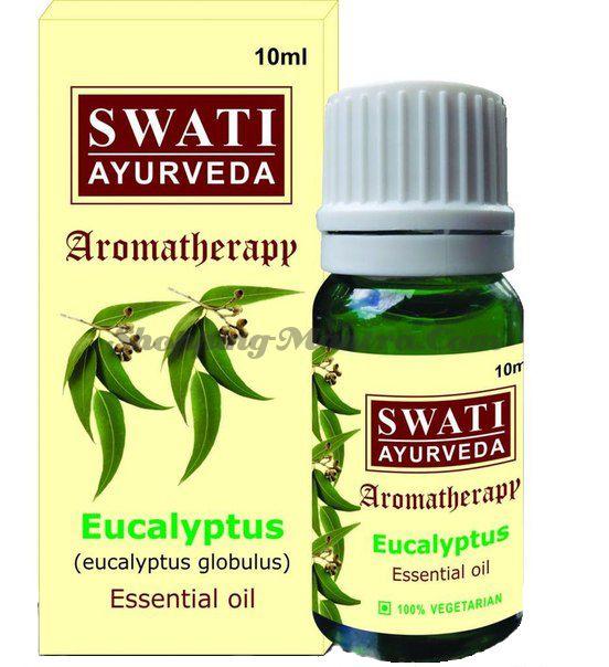 Эфирное масло Эвкалипт Свати Аюрведа / Swati Ayurveda Eucalyptus Essential Oil