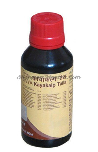 Лечебное масло Патанджали для проблемной кожи лица и тела | Divya Patanjali Kayakalp Taila