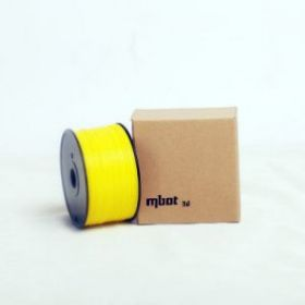 Катушка PLA-пластика Mbot 1.75 мм 1кг.,желтая