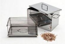 Коптильня из пищевой нержавейки 2 мм  без гидрозатвора
