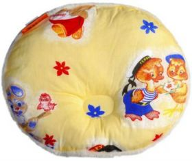 Подушка детская из овечьей шерсти Овал