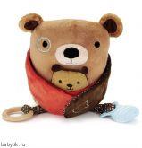 Развивающая игрушка-обнимашка Медведь