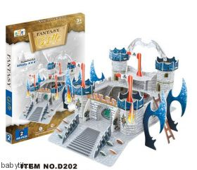 "Трехмерный пазл из картона ""Замок"" Fantasy Castle"