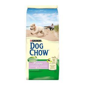 DOG CHOW PUPPY для щенков Ягненок и Рис 14 кг
