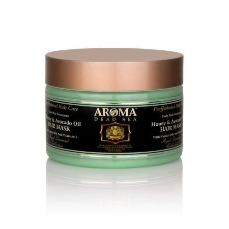 Маска для волос с медом, маслом авокадо и минералами Мертвого моря