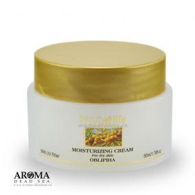 Дневной увлажняющий крем для сухой кожи с маслом облепихи