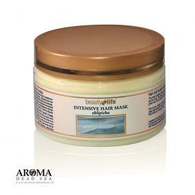 Маска для волос с облепиховым маслом  и минералами Мертвого моря